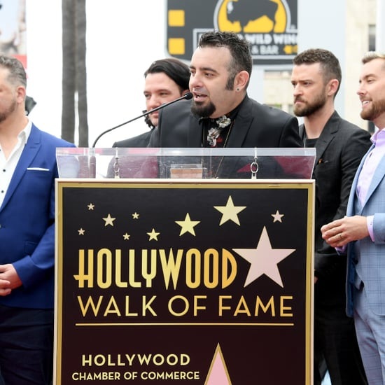 NSYNC Reunion at Hollywood Walk of Fame Ceremony April 2018