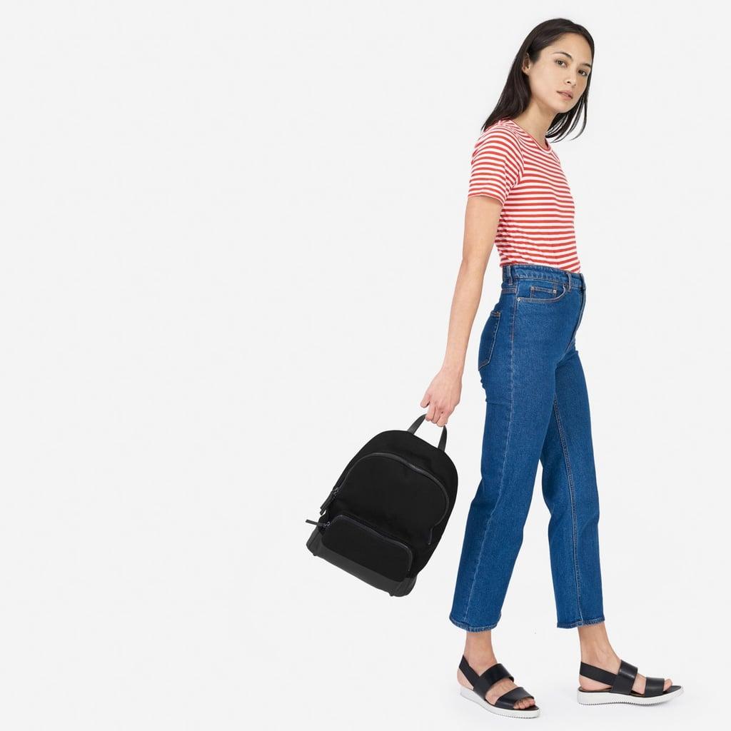 Everlane The Dipped Mini Zip Backpack ($70)