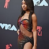 Normani Kordei's Dress and Heels at the 2019 MTV VMAs