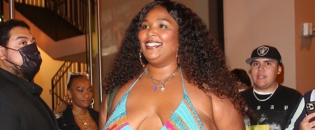See Lizzo Wearing a Crochet Bikini Top With Jeans to Dinner