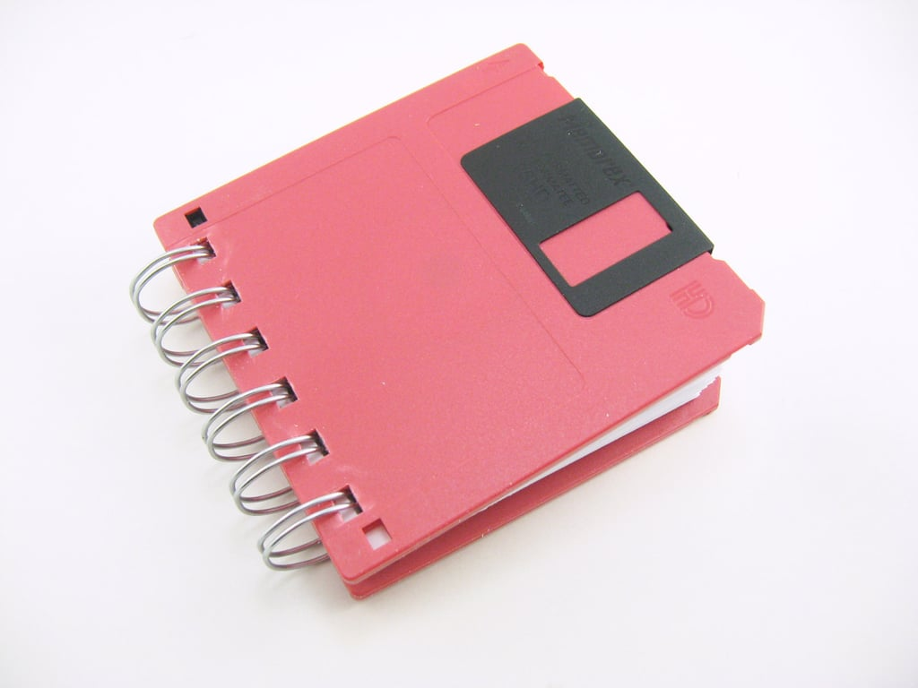 Floppy Disk Notebook
