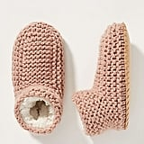 Knit Sock Slippers