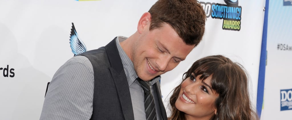 Lea Michele's Throwback Photo With Cory Monteith Will Break Your Heart All Over Again