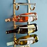 Antique Brass Wine Rack