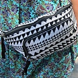 We'll admit it: we can't resist this black-and-white printed fanny pack from American Eagle Outfitters.