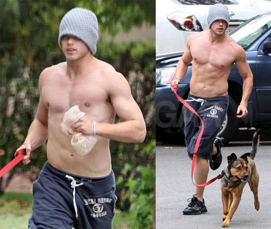 Shirtless Kellan Lutz Photos, Video Interviews With Twilight Cast At 2009 MTV Movie Awards