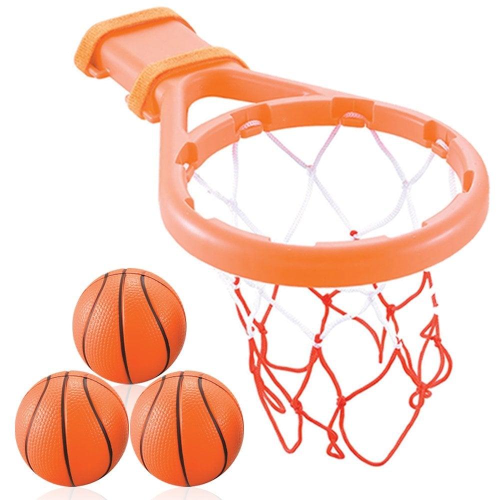 3 Bees & Me Bath Toy Basketball Hoop & Balls Set