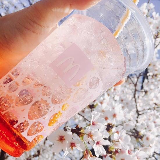McDonald's Japan Strawberry McFloat