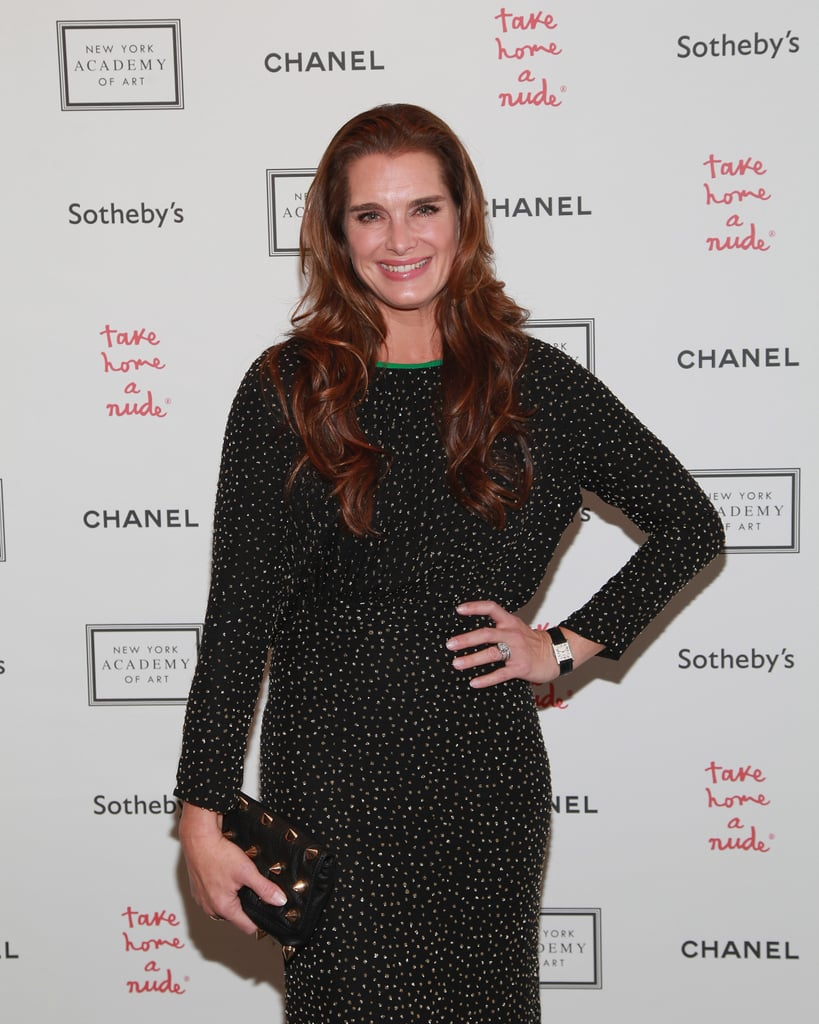 Brooke Shields Was In Attendance For The Take Home A Nude Art Auction -7914