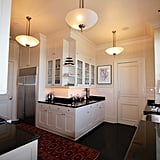 The updated kitchen offers multiple cooking surfaces.