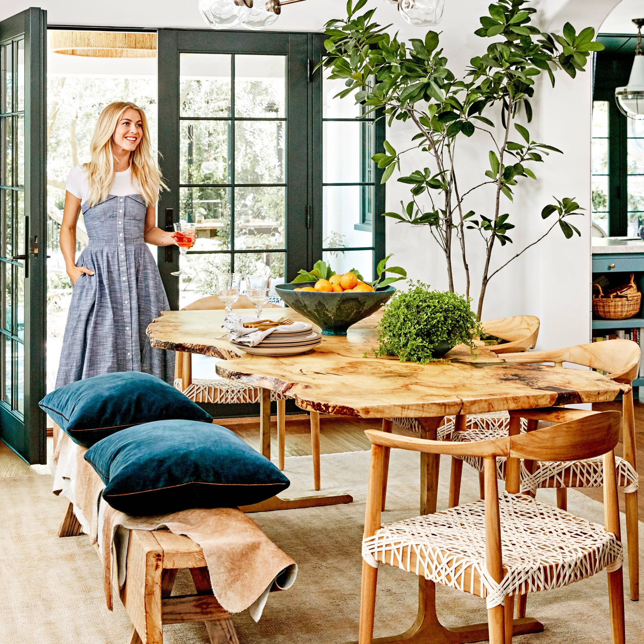 Julianne Hough Better Homes Gardens POPSUGAR Home