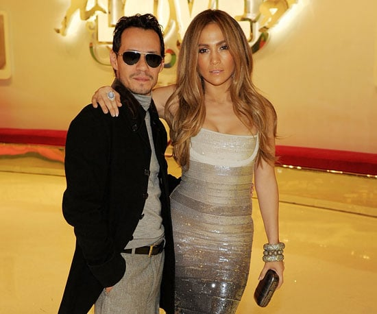 Slide Picture of Jennifer Lopez and Marc Anthony in Las Vegas