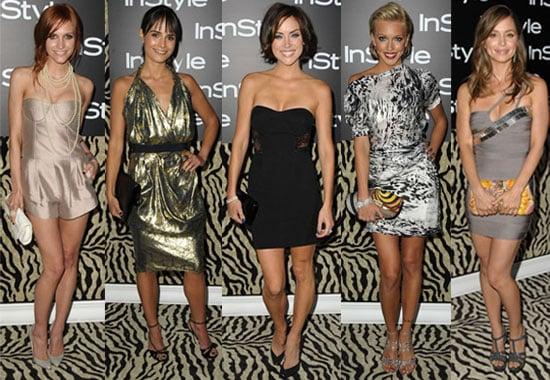 Photos of Ashlee Simpson, Jennifer Morrison, Jordana Brewster, Gabrielle Union, and Eliza Dushku at InStyle Party in LA