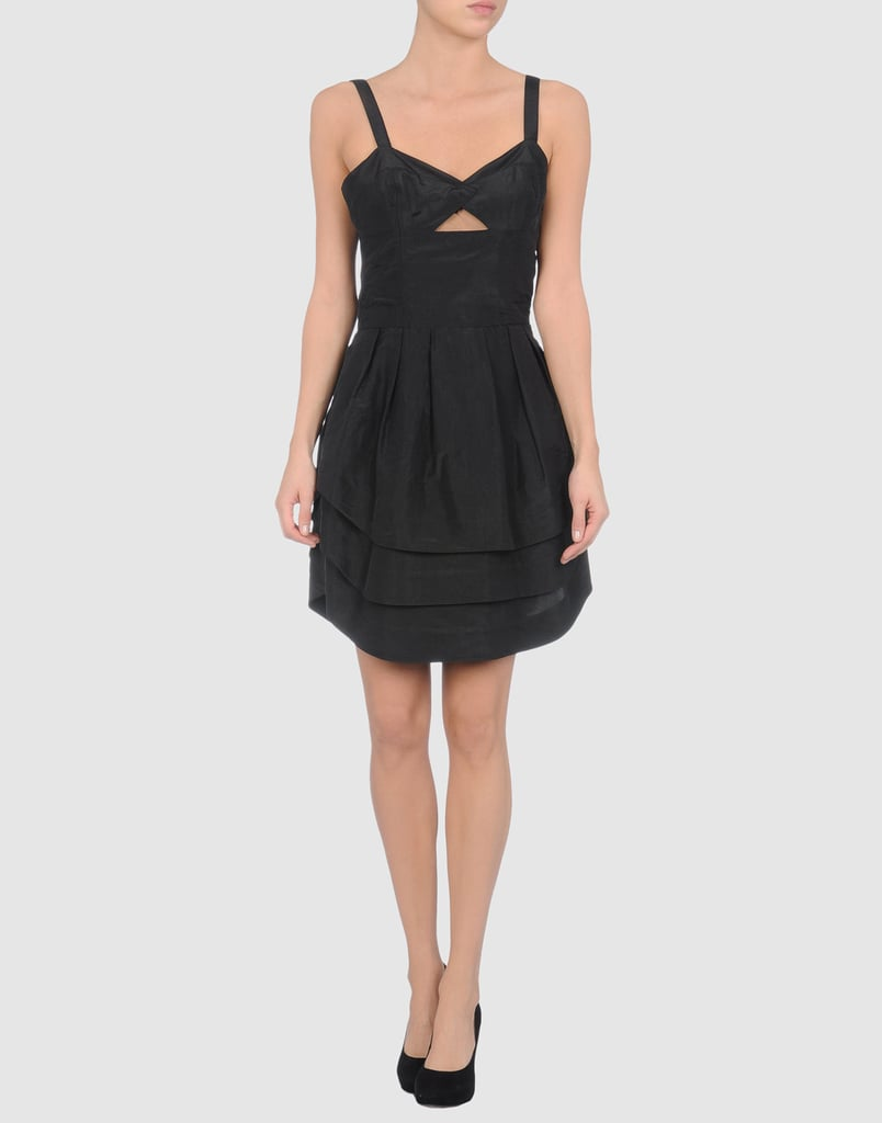 Viktor & Rolf Short Black Taffeta Dress ($530, originally $590)