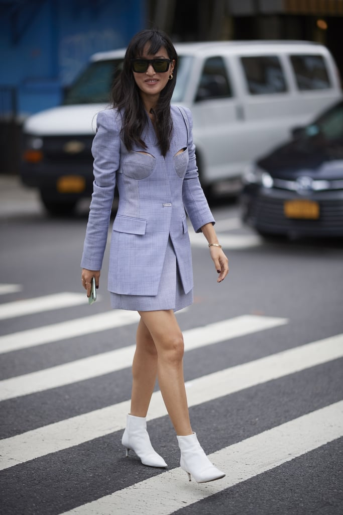 Priyanka Chopra owns this fab Dion Lee set. There's no denying that with the addition of cutouts up top, this look can be sexy, too.