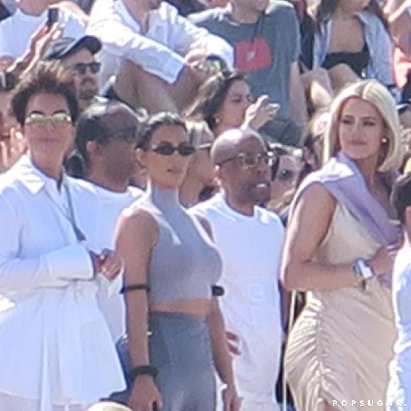 44aab795c The Kardashians at Kanye West's Coachella Sunday Service | POPSUGAR  Celebrity