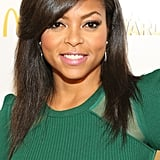 Taraji P. Henson's beautiful blowout and glamorous smoky eye were instant showstoppers.