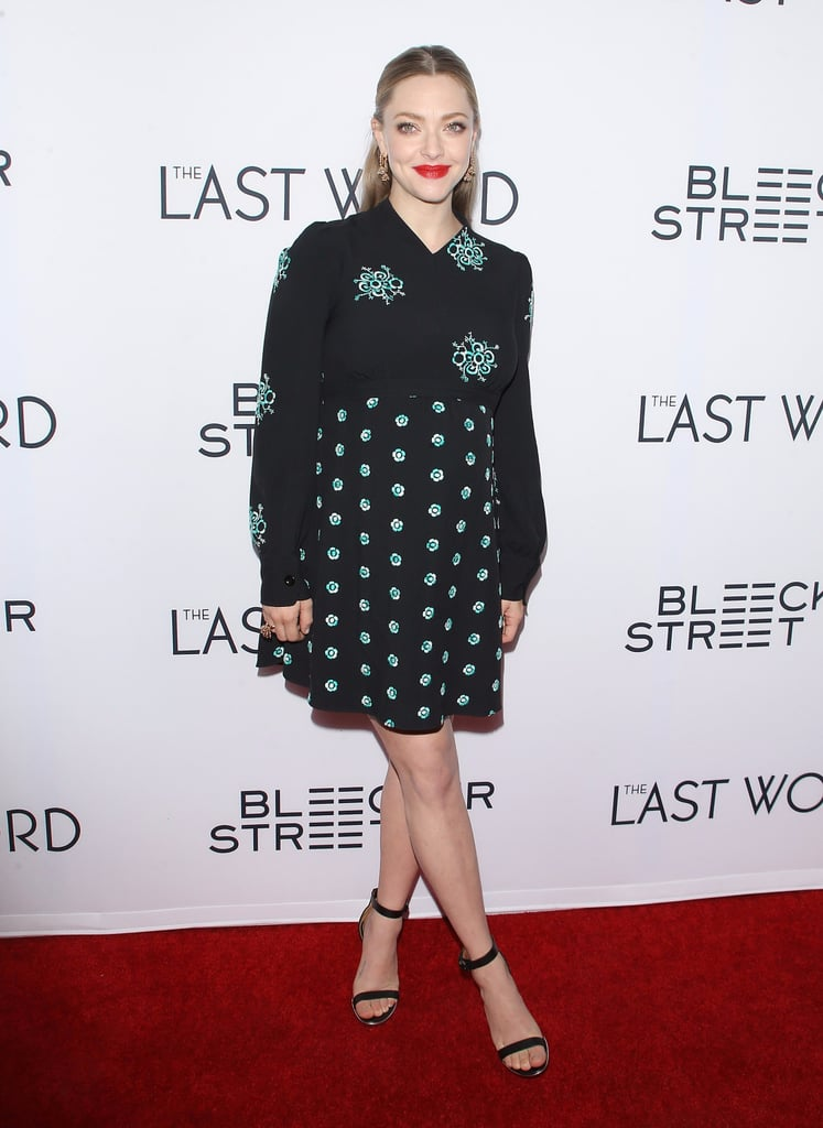 Amanda Seyfried's 2 Bold Maternity Looks Are Something to Remember