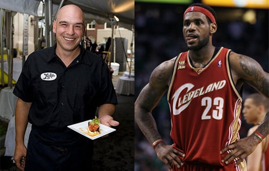 Michael Symon Lobbies to Keep NBA Star LeBron James in Cleveland
