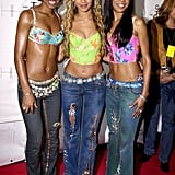 Destiny's Child at MTV's Janet Jackson Tribute in 2001