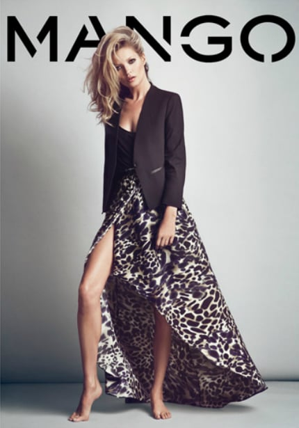A printed maxi skirt with a tailored black blazer — it's femininity with an edge.