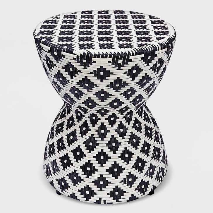 Wicker Hourglass End Table   Best Target Outdoor Furniture ...