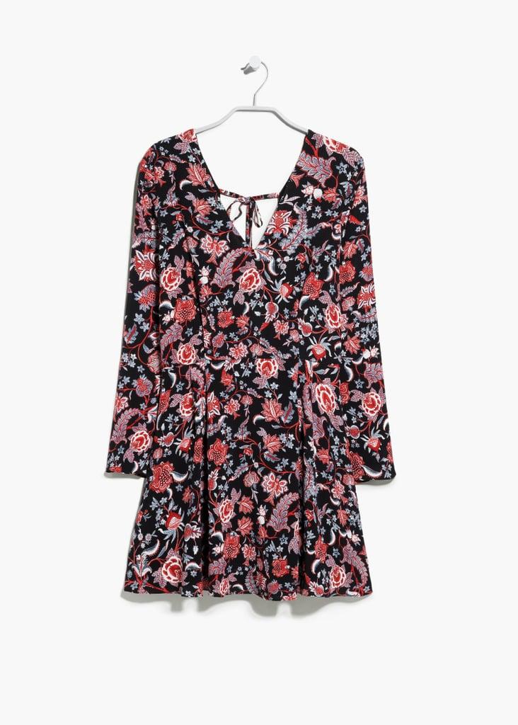 Mango V-Neckline Boho Dress ($80)