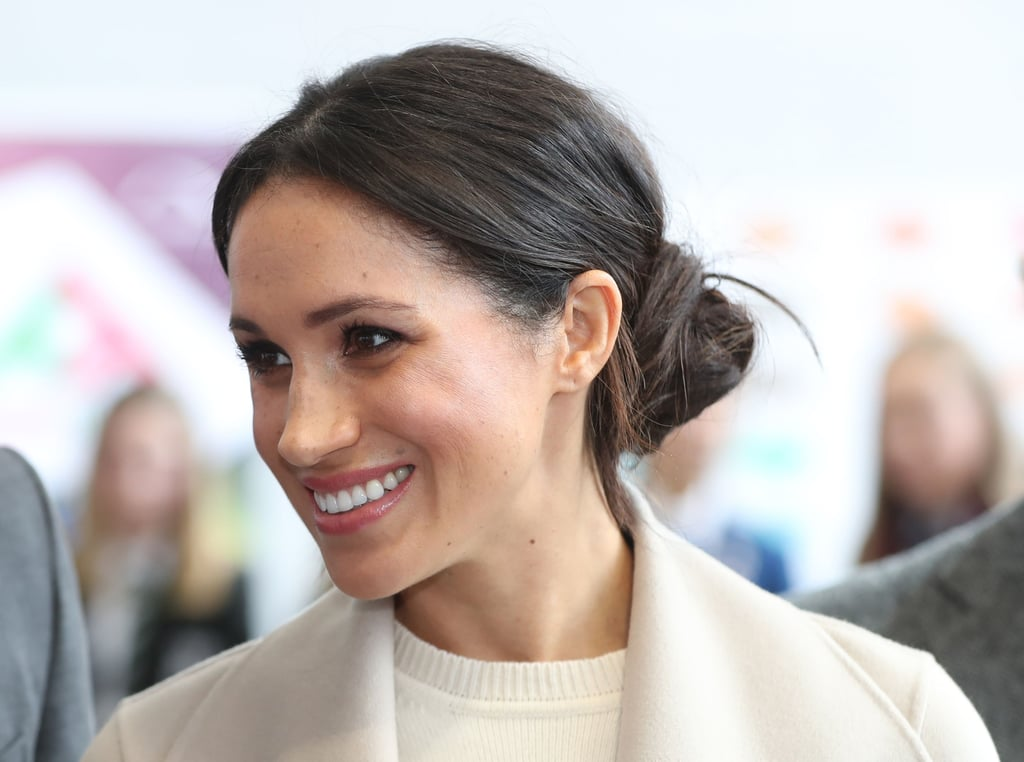These 2019 Haircut Trends Are About To Make This Year Even: Meghan Markle's Bun Hairstyle March 2018