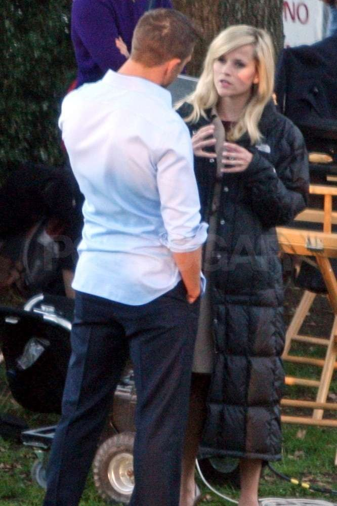 Pictures Of Reese Witherspoon And Tom Hardy Shooting This Means War