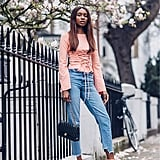 Dust Off Your Summer Pink Sandals and Work Them With Long Sleeves