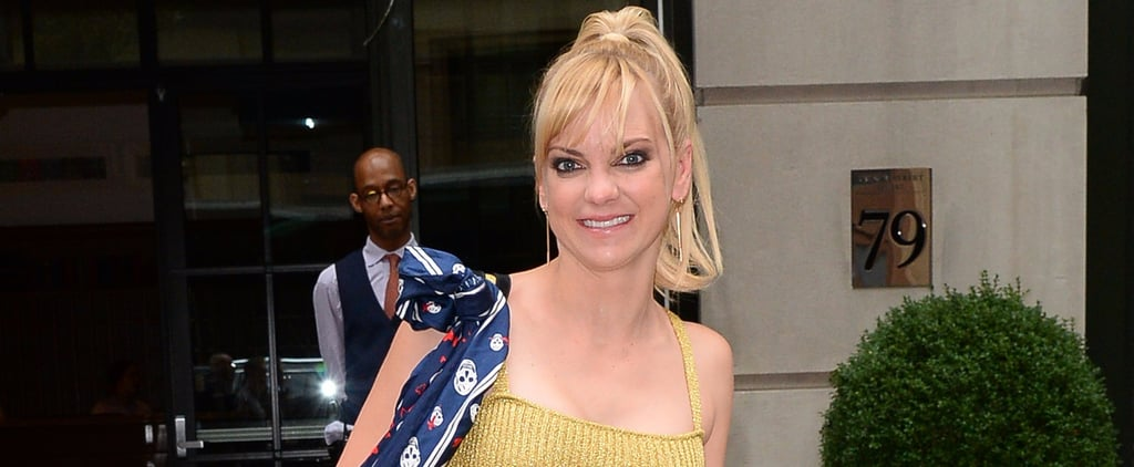 Anna Faris Steps Out in a Sexy Gold Number Following Reports That She's Dating Again