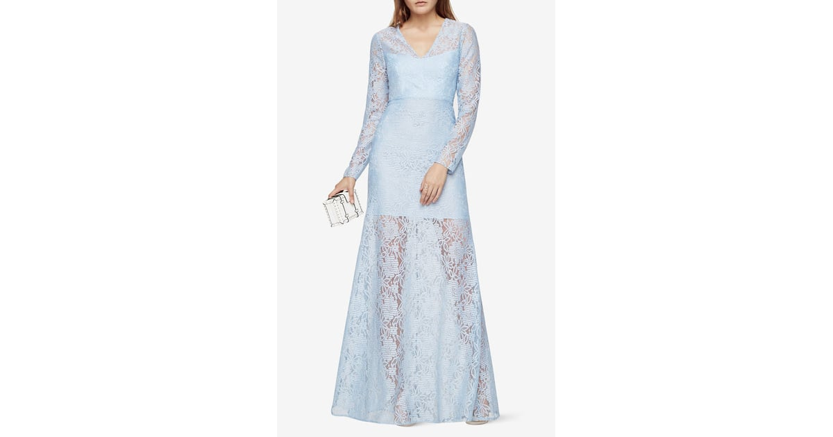 BCBGMAXAZRIA Daysha Lace Gown | Kate Middleton\'s Jenny Packham Blue ...