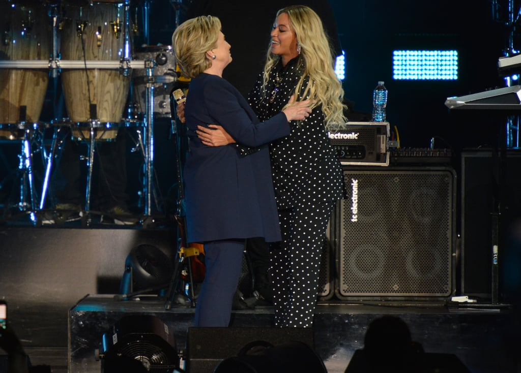 Hillary Clinton and Beyoncé Knowles