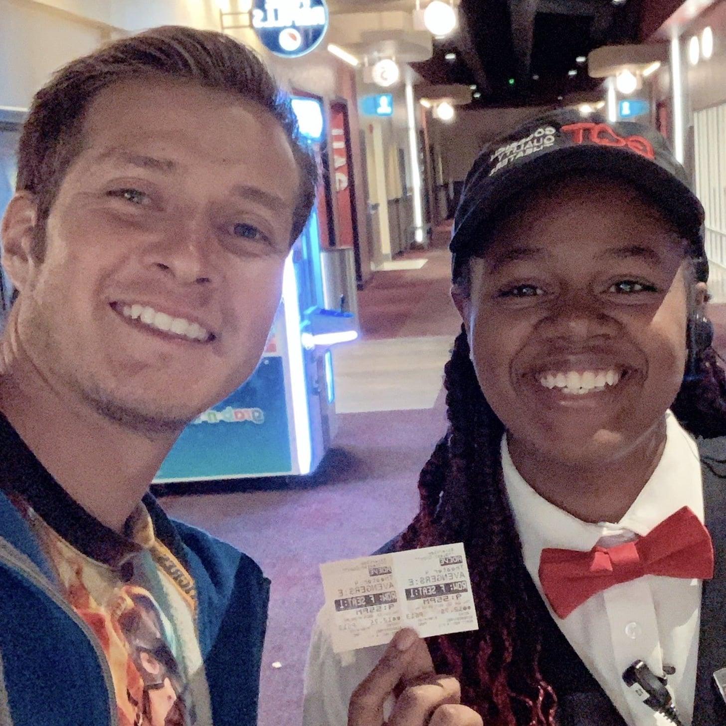 Florida Man Tries to Break Cinema World Record | POPSUGAR Entertainment UK