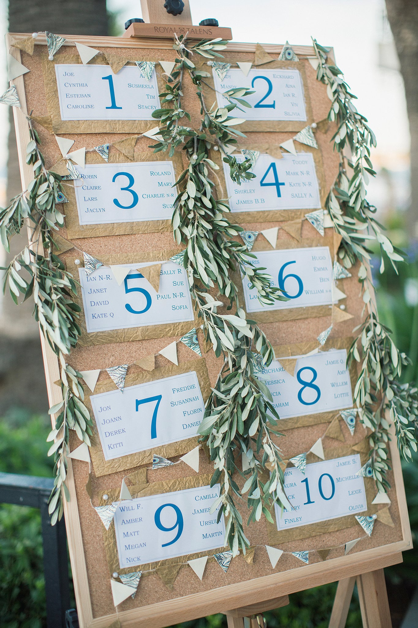 Get Rid of Individual Place Cards