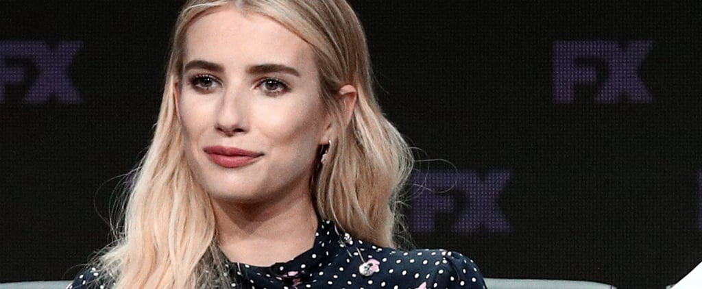 Emma Roberts's Haircut and Colour For American Horror Story