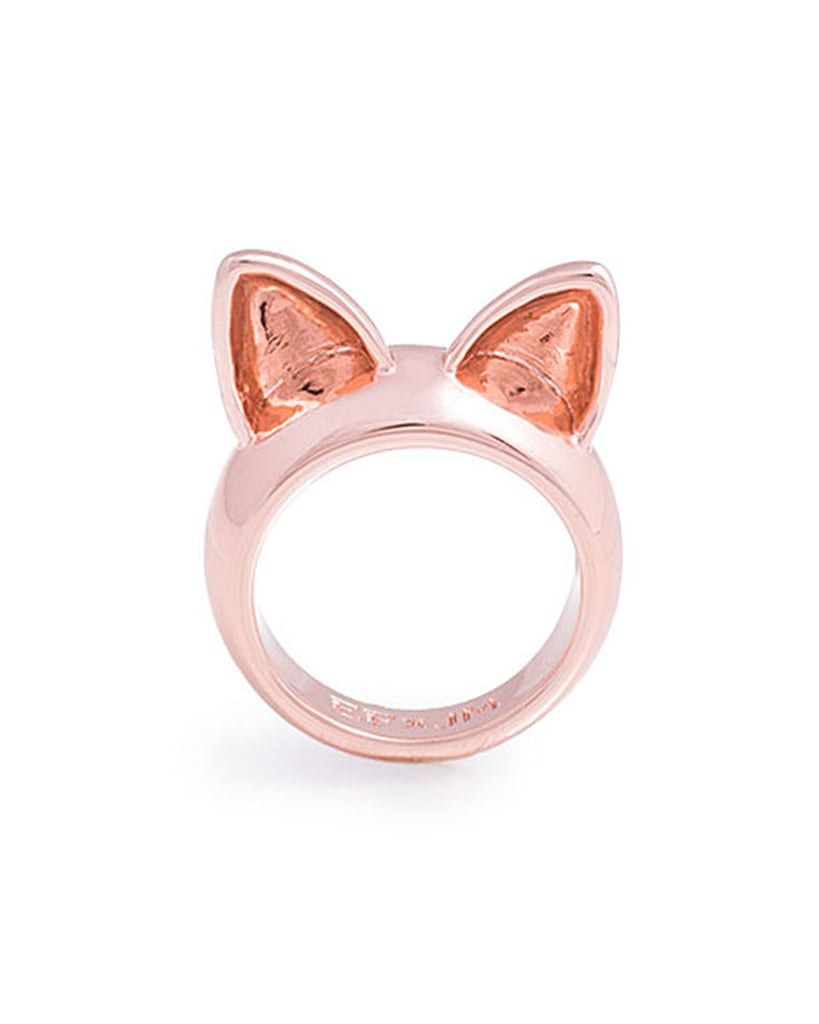 Erin Fetherston for JewelMint Kitty's Ring ($30)