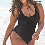 Ashley Graham x Swimsuits For All Hotshot Black One-Piece Swimsuit