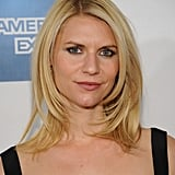 Claire Danes posed at the premiere of Hysteria at the 2012 Tribeca Film Festival.