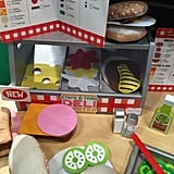 We can't wait to see the funny sandwich creations kids come up with when they play with Melissa and Doug's Stack and Toss Deli Center later this year.