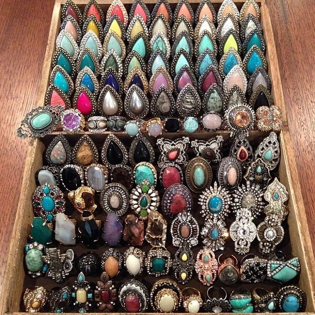 Organise your jewellery.