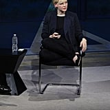 Carey Mulligan at the New York Times TimesTalk.