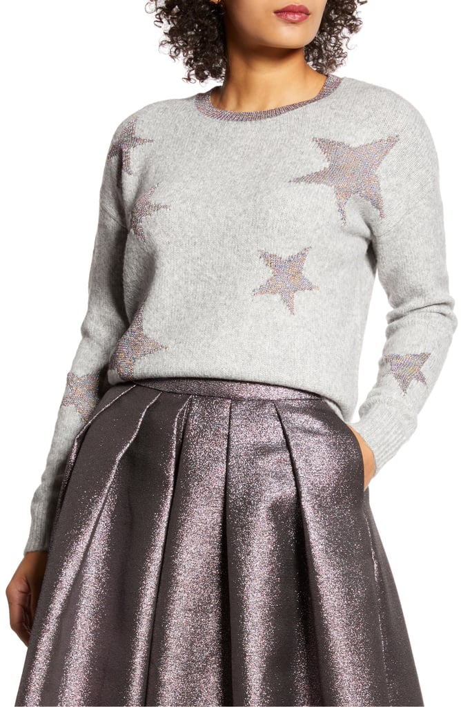 Halogen x Atlantic-Pacific Star Sweater