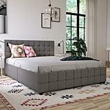 Elizabeth Upholstered Storage Platform Bed