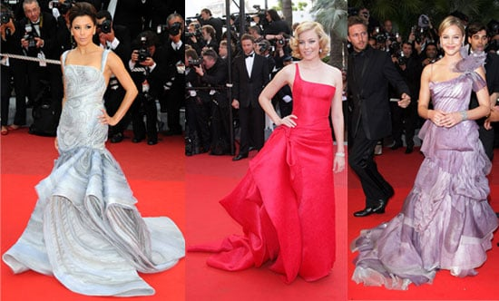 Photo of Eva Longoria, Elizabeth Banks, and Abbie Cornish at 2009 Cannes Film Festival