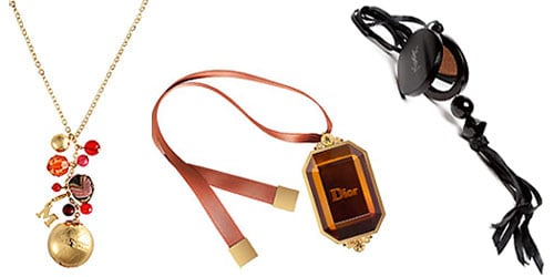 Dior, Missoni, and YSL Charm Necklaces