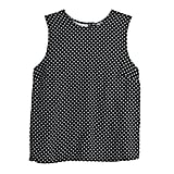 POPSUGAR Button-Back Tank