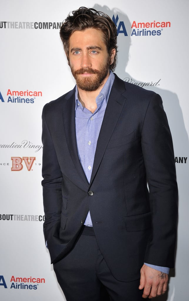Jake Gyllenhaal posed for a few solo shots.