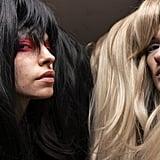 Extrawide Wigs at Matty Bovan Fall 2020