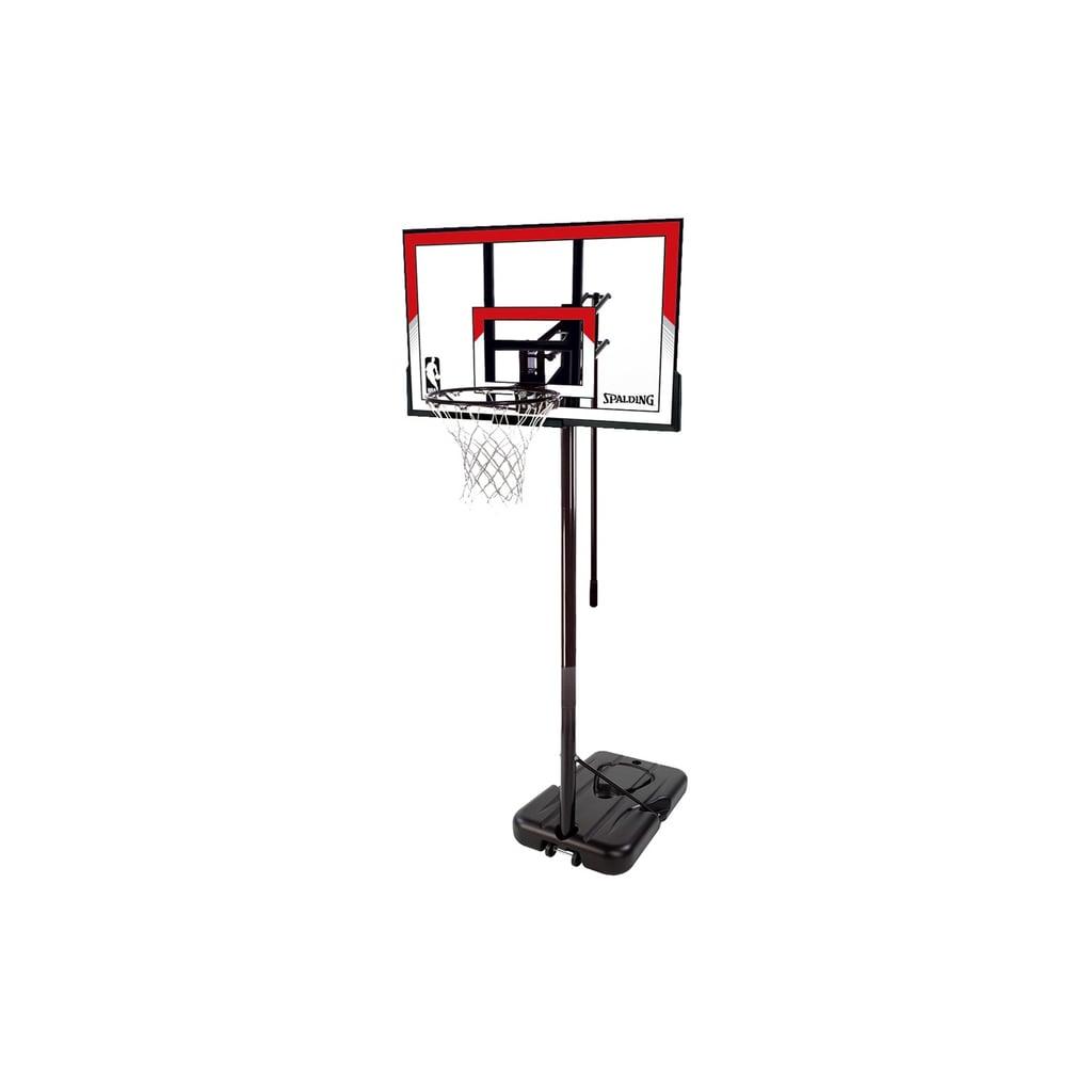 "Spalding NBA 44"" Polycarbonate Portable Basketball Hoop"